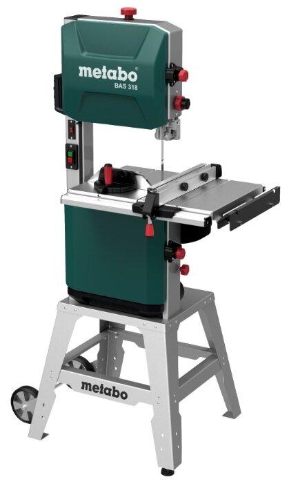 Ленточнопильный станок вертикальный Metabo BAS 318 Precision 619009000 900 Вт