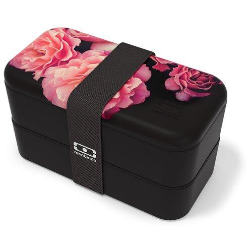Monbento Ланч-бокс Original, flower/mood black monbento ланч бокс original 18 6x11 см flower mood denim