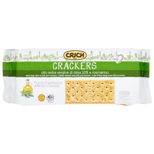 Крекеры Crich с оливковым маслом и розмарином, 250 г веледа с розмарином