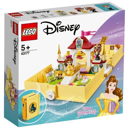 Купить Конструктор LEGO Disney Princess 43177 Книга сказочных приключений Белль, Конструкторы