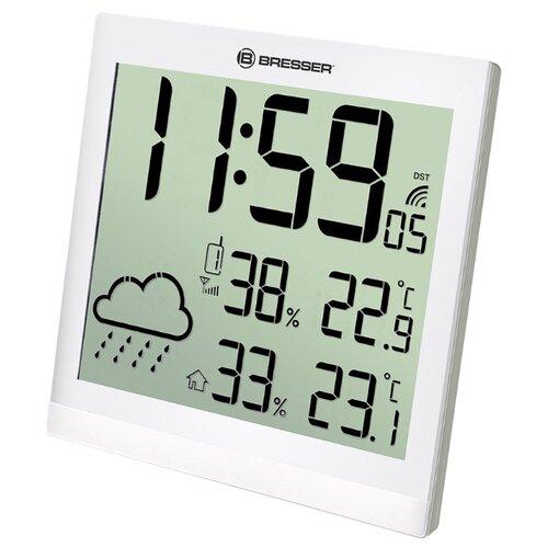 Метеостанция BRESSER TemeoTrend JC LCD белый