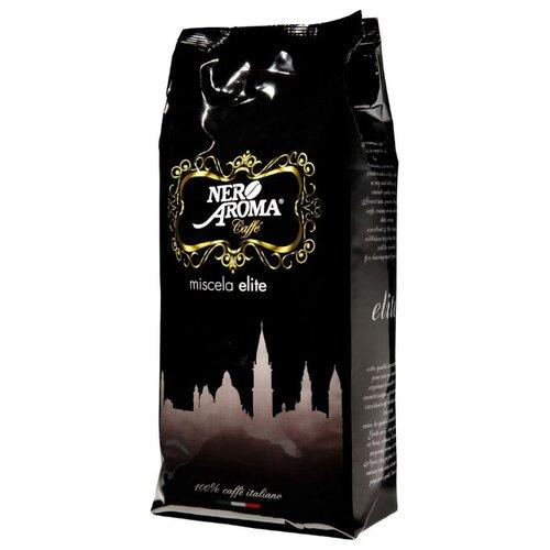 Кофе в зернах Nero Aroma Elite, арабика/робуста, 1 кг