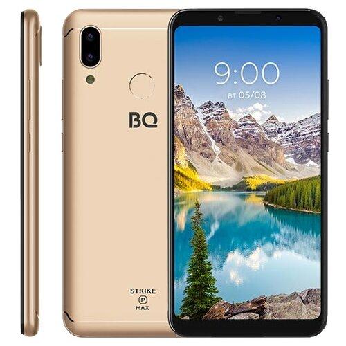 Смартфон BQ 6035L Strike Power MAX золотой смартфон bq bq 4072 strike mini blue