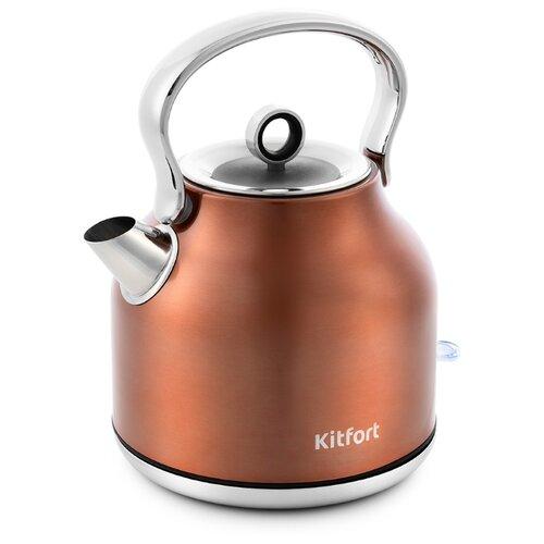 Чайник Kitfort KT-671, бронзовый