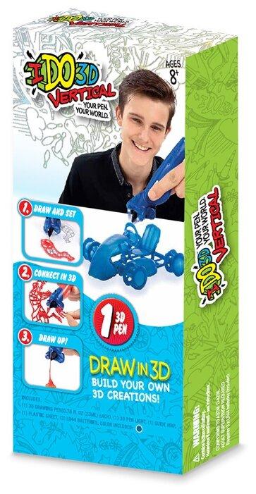 3D-ручка Redwood Ventures Вертикаль-Гоночная машина синий фото 1