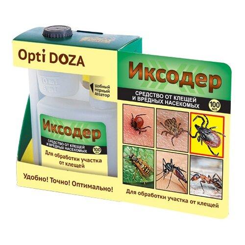 Жидкость Ваше хозяйство Иксодер от клещей и вредных насекомых, 100 мл
