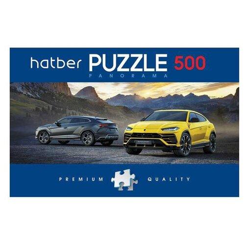 Купить Пазл Hatber Premium Panorama Super car (500ПЗ2_18728), 500 дет., Пазлы