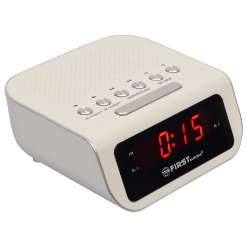 Радиобудильник FIRST AUSTRIA FA-2406-1 white