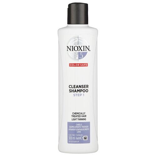 Nioxin шампунь System 5 Cleanser Step 1, 300 мл nioxin шампунь system 6 cleanser step 1 300 мл