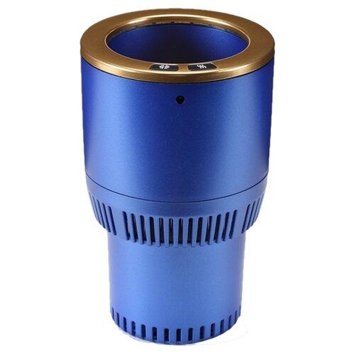 Термоподстаканник Paltier Smart Cup синий с золотом
