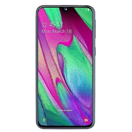 Смартфон Samsung Galaxy A40 64GB черный (SM-A405FZKGSER) смартфон samsung galaxy a50 64gb sm a505f 2019 черный