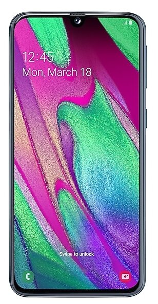Сотовый телефон Samsung Galaxy A40 4Gb RAM 64Gb Black