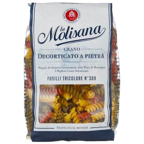 La Molisana Spa Макароны Fusilli tricolore № 309 с томатами и шпинатом, 500 г