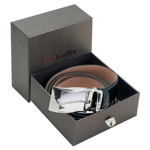 Ремень Dr.Koffer R022B01120-50, черный, 120 см