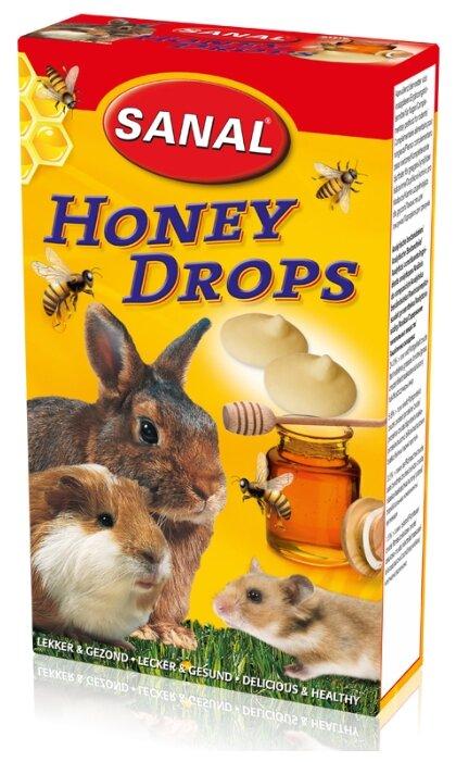 Лакомство для кроликов, грызунов SANAL Honey Drops с медом