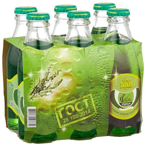 Газированный напиток Star Bar Тархун, 0.175 л, 6 шт. star bar лимонад тархун 6 шт по 0 175 л