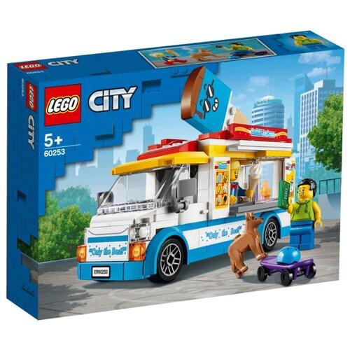 Конструктор LEGO City 60253 Грузовик мороженщика конструктор city lego lego mp002xb00c9t