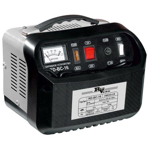 Зарядное устройство RedVerg RD-BC-16 черный/серый зарядное устройство redverg rd bc 20