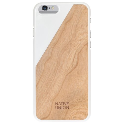 Купить Чехол Native Union CLIC WOODEN для Apple iPhone 6 Plus/iPhone 6S Plus white