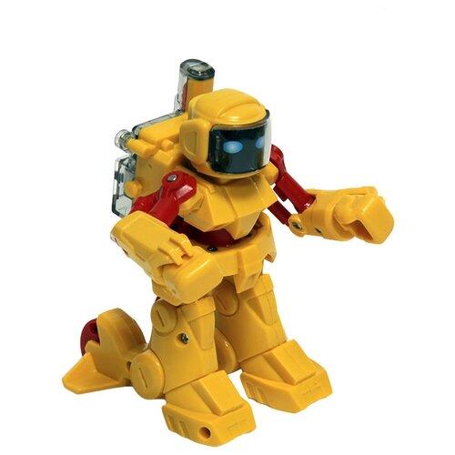 Купить Интерактивная игрушка робот Mioshi Боевой робот: участник схватки желтый, Роботы и трансформеры