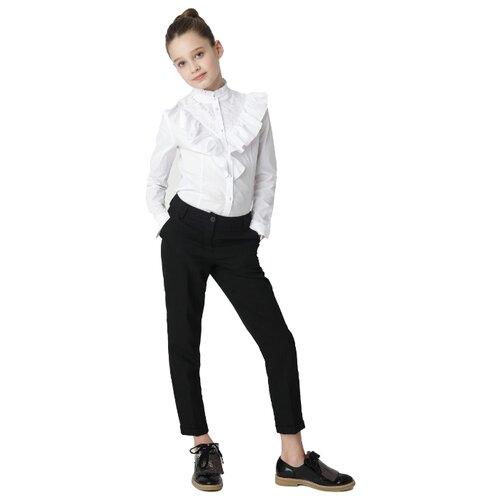 Блузка Gulliver размер 170, белый блузка женская oodji ultra цвет белый голубой 13k03005 1 46440 1070o размер 36 42 170