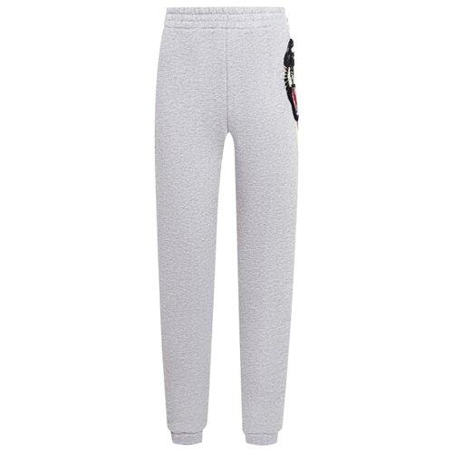 Брюки GUCCI размер 110, серый gucci розовые вельветовые брюки