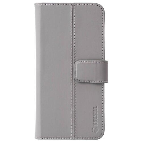 Чехол Krusell Loka FolioWallet 2 in 1 для Apple iPhone Xr серый