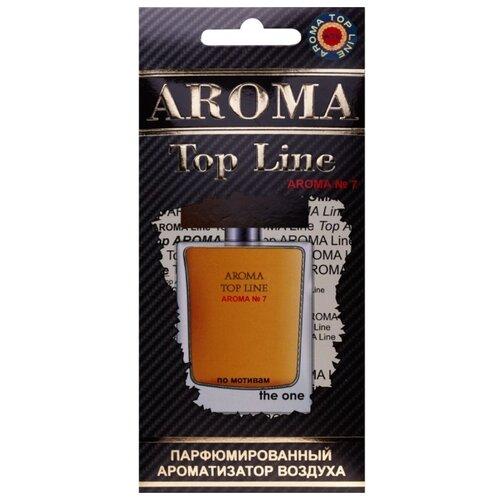 AROMA TOP LINE Ароматизатор для автомобиля Aroma №7 Dolce&Gabbana the one for man 14 г