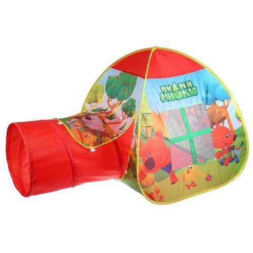 Палатка Играем вместе Мимимишки с тоннелем в сумке GFA-TONMIMI01-R