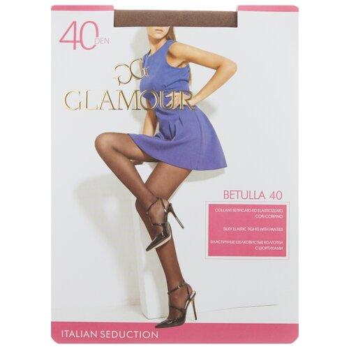 Колготки Glamour Betulla 40 den, размер 4-L, daino (коричневый) колготки glamour betulla 40 den размер 5 xl daino коричневый