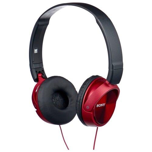 цена на Наушники Sony MDR-ZX310AP красный