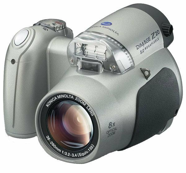 Фотоаппарат Konica Minolta DiMAGE Z20