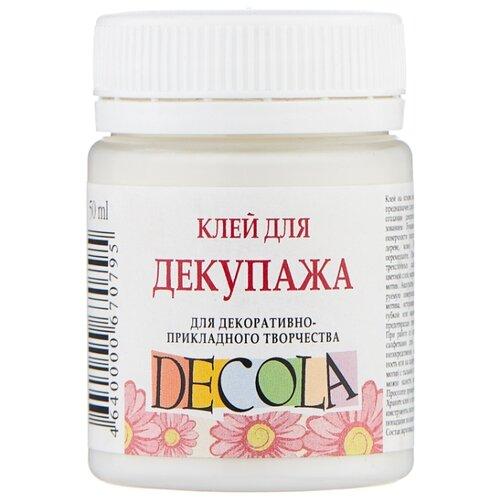 Купить Клей Decola для декупажа на водной основе 8628932 50 мл белый, Лак и клей