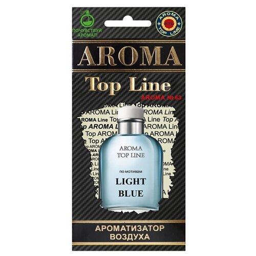 AROMA TOP LINE Ароматизатор для автомобиля Aroma №63 D&G Light Blue 14 г