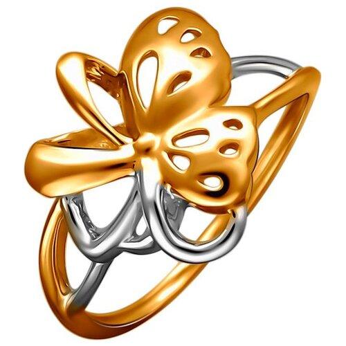 Эстет Кольцо из красного золота 01К0112324Р, размер 19 фото