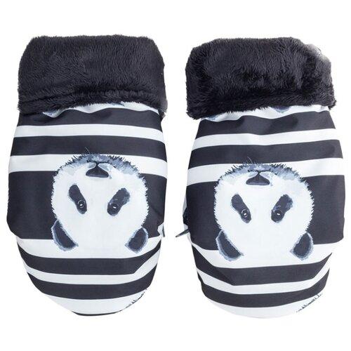 Муфта для рук Mammie варежки мембранные, цвет панды
