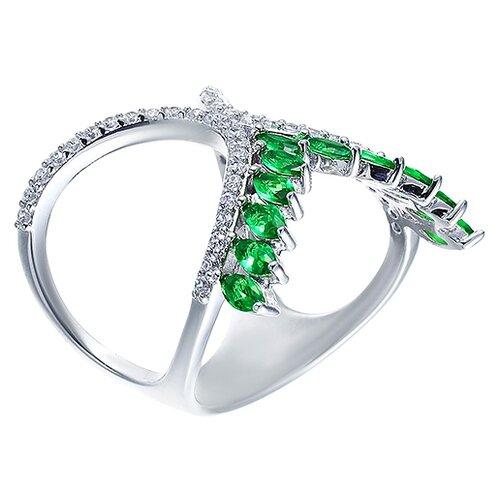ELEMENT47 Кольцо из серебра 925 пробы с фианитами R-M0048-KO-001-WG, размер 18- преимущества, отзывы, как заказать товар за 5252 руб. Бренд ELEMENT47