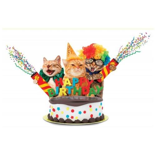 Открытка ND Play Happy Birthday! (273795), 1 шт. открытка nd play happy birthday 273797 1 шт