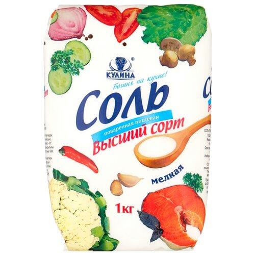 Кулина Соль поваренная, высший сорт, 1000 г