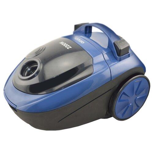 Пылесос Ginzzu VS452 черный/синий