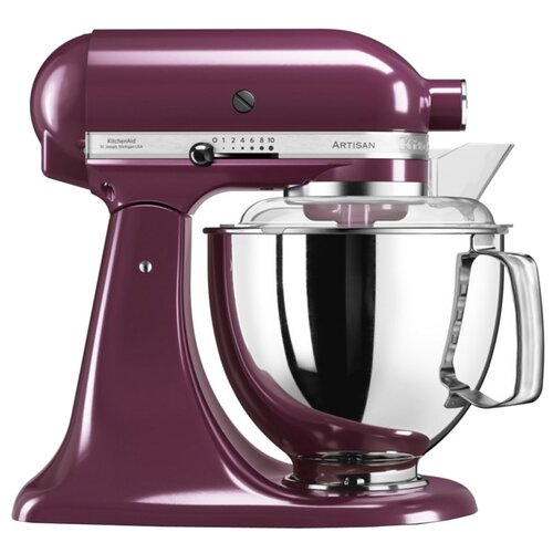Миксер KitchenAid 5KSM175PSEBY, фиолетовый kitchenaid миксер ручной серебристый 5khm9212ecu kitchenaid