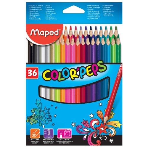 Купить Maped Цветные карандаши Color Peps 36 цветов (832017)