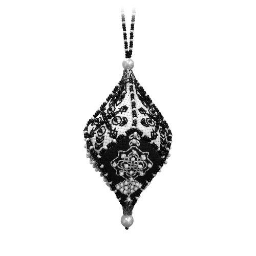 ZENGANA Набор для вышивания бисером и нитками Кристалл желаний (М-094)