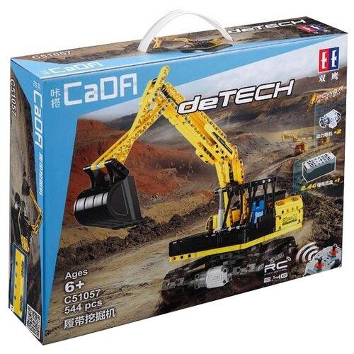 Конструктор Double Eagle CaDA deTECH C51057W Гусеничный экскаватор конструктор cada detech порше 918 421 деталь