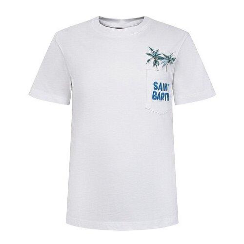 Футболка MC2 Saint Barth, размер 80, белый чехол для телефона mc2 saint barth mc2 saint barth mc006bwyxa57