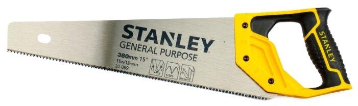 Ножовка по дереву STANLEY General Purpose 1-20-089 380 мм — цены на Яндекс.Маркете