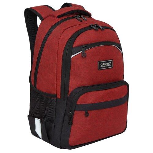 Купить Grizzly рюкзак (RB-054-6), красный, Рюкзаки, ранцы