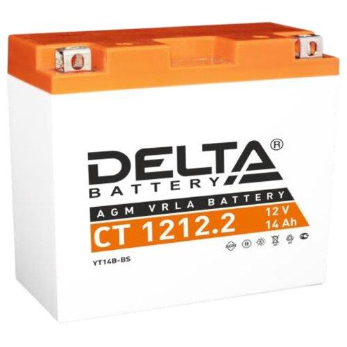 Мото аккумулятор DELTA Battery CT 1212.2