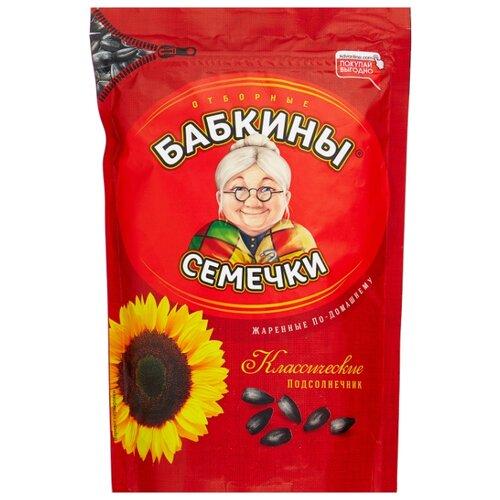 Семена подсолнечника Бабкины Семечки Классические жареные по-домашнему 300 г фото