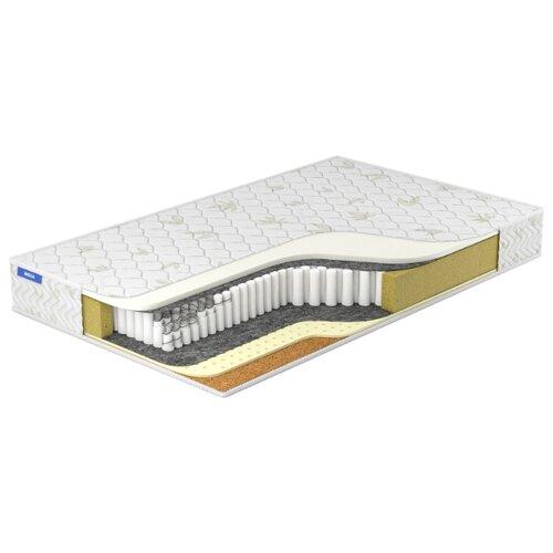 Матрас Miella Memory-Harder DS 120x200, пружинный, белый